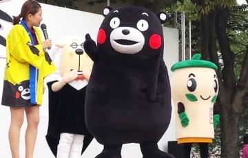 くるっぱとくまモンがコラボ!!久留米市「第四回 大善寺祭り」