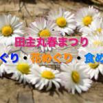 春の息吹を感じよう!田主丸春まつり「蔵めぐり・花めぐり・食めぐり」