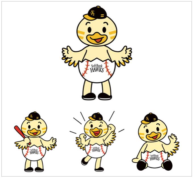 福岡ソフトバンクホークス HAWKSベースボールパーク筑後のキャラクターが「ひな丸」に決定!