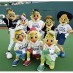 イオンモール筑紫野 ホークスキャラバン2016 開催!ハーキュリー&ハニー登場!