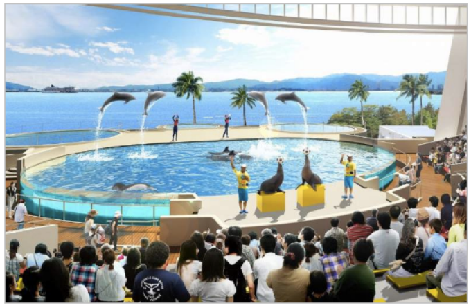 マリンワールド海の中道 グランドオープン!展示の進化、ペンギンの丘が新設
