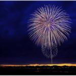 華やかな花火が川面に映り美しく輝く皐月花火!第66回 筑後川川開き 温泉祭 花火大会
