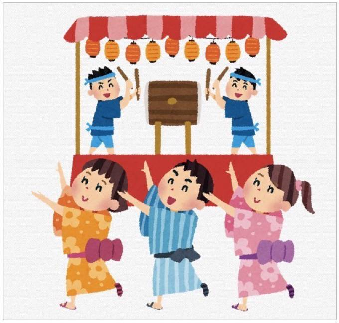 「盆踊り大会と花火ファンタジア」ベイサイドプレイス博多サンセットパークにて開催!
