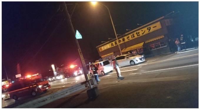 久留米市「丸星ラーメン」が火事に!店内にいた30代の男性客が搬送!