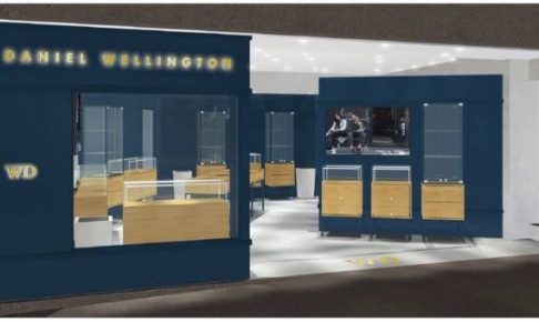 スウェーデン発 Daniel Wellington(ダニエル・ウェリントン) 九州2号店目となる直営店 本日オープン