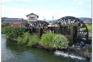 朝倉市 山田堰通水式 三連水車が稼働 6月17日開催!
