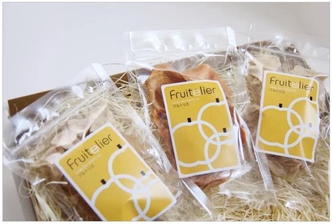 中村果樹園フルトリエ オリジナル商品 セミドライフルーツ(果実乾燥品)