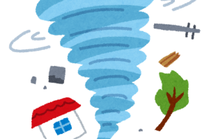 筑後地方に竜巻注意情報 福岡管区気象台発表