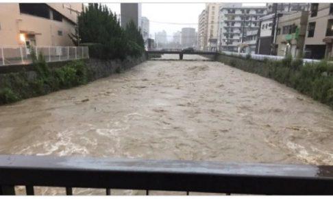 北九州市小倉南区 避難指示 竹馬川流域・紫川・東谷川流域 氾濫危険水位