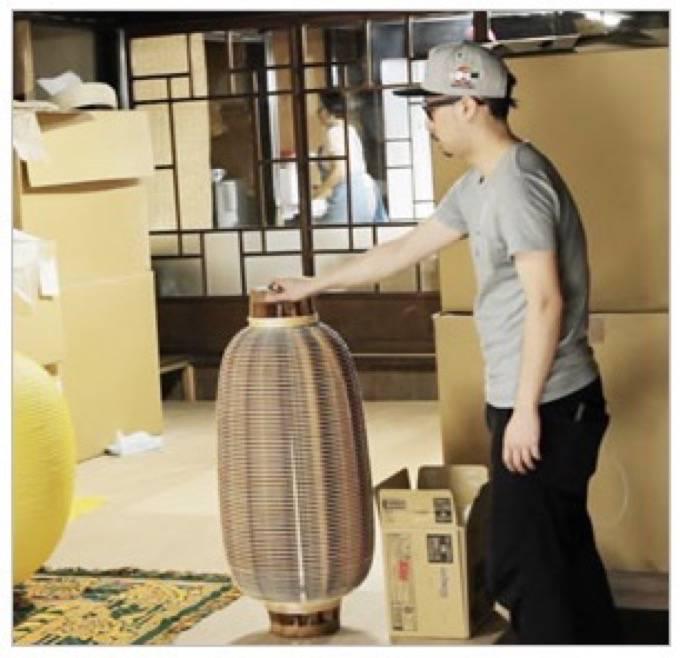 美の鼓動・九州 八女市で180年以上続く提灯の老舗「伊藤権次郎商店」を放送