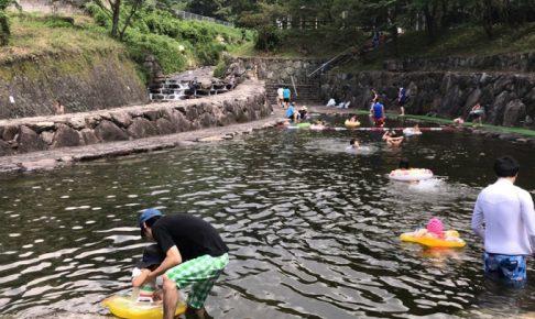 天然プールでひんやり!鯉・ヤマメ釣り、そうめん流しも!「自然の森フィッシングリゾート」