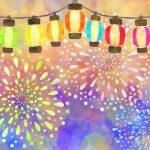 久留米市「赤司八幡宮放生会奉納花火大会」間近で2,000発の花火!