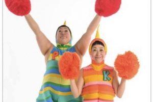 ケロポンズが大川市に!ケロポンズ 歌って踊れるファミリーコンサート