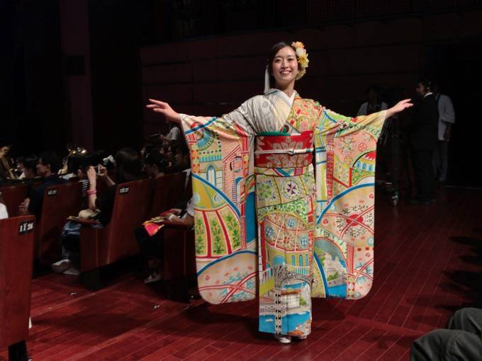 久留米フェスティバルに行って来ました!コラボラーメン、着物ショー、ハジ→、fumika最高でした!
