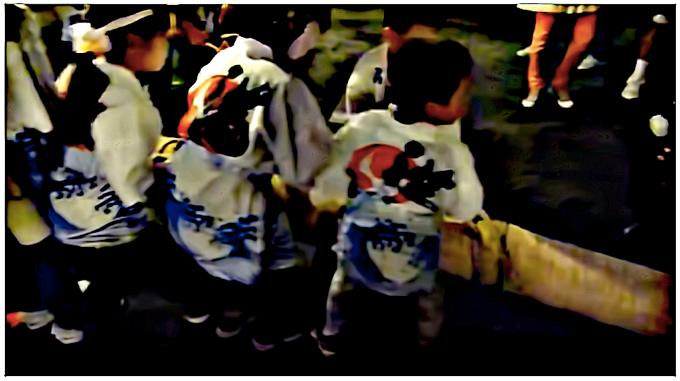 久留米市 十五夜さん大綱引き 伊勢天照御祖神社において開催!