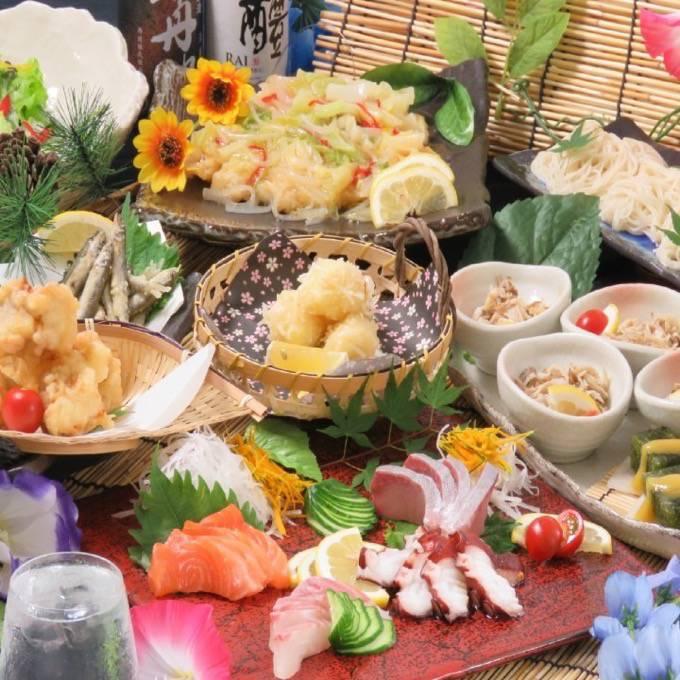 かこみ庵久留米店 ニューオープン!全席完全個室の新和風九州料理のお店