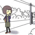 黒ずくめの男に女性が襲われる 福岡県久留米市
