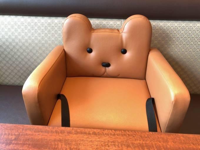 元町珈琲うふふ かわいい子ども椅子