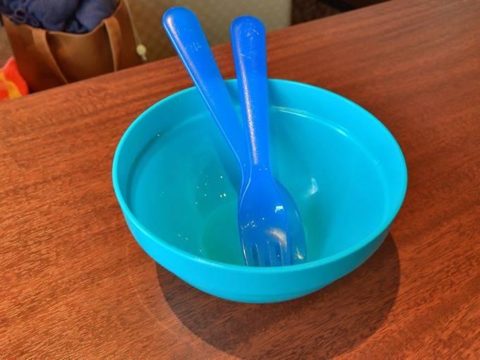 元町珈琲うふふ 子ども用フォーク・スプーン・小皿