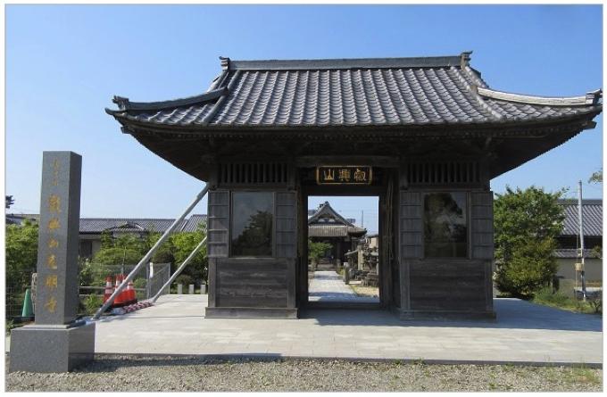 筑後市で最も古いお寺 光明寺 33年に一度の秘仏御開帳