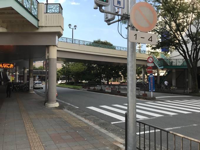 西鉄久留米駅東口ロータリー