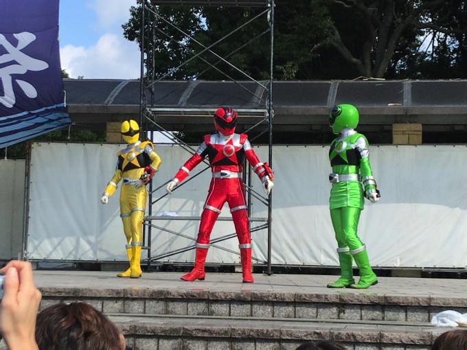 ふるさとみづま祭り キューレンジャー