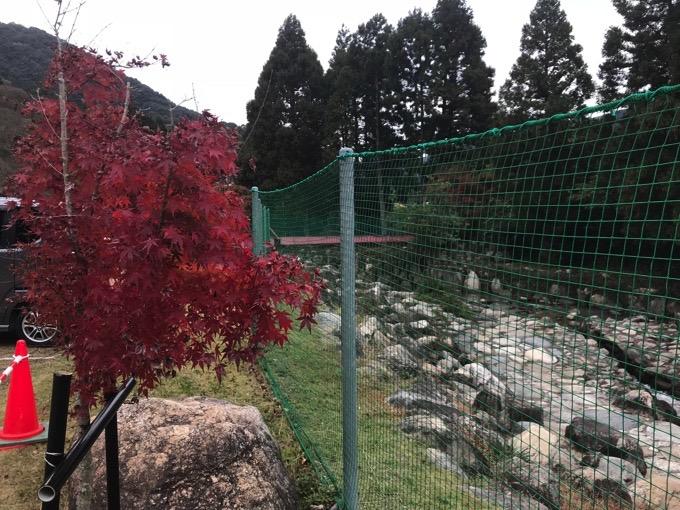 山田水辺公園の川と橋