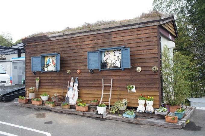 パンネスト駐車場の小屋