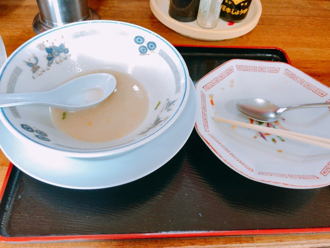 阿香のれん完食