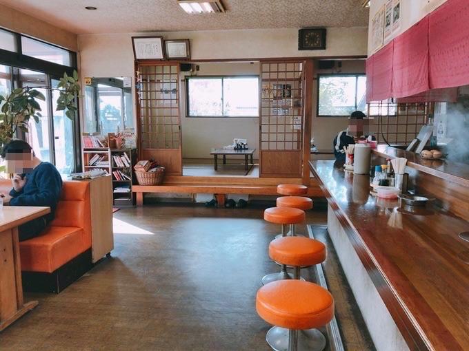 阿香のれん店内座席