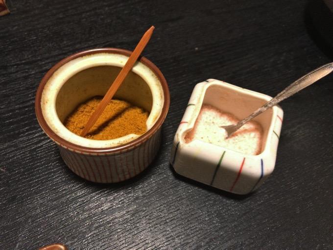 久留米市 創作和食ダイニング 櫻舞 塩・カレー粉
