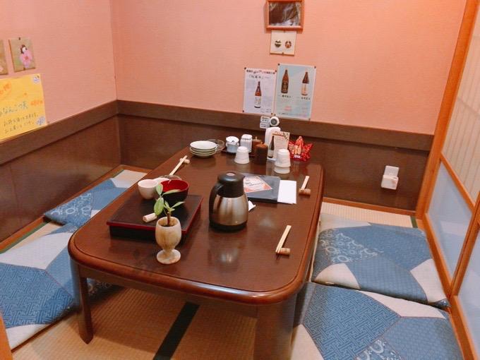 久留米市 櫻舞(さくらまい)4人個室