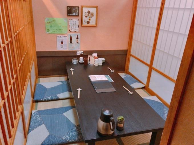 久留米市 櫻舞(さくらまい)個室 座敷