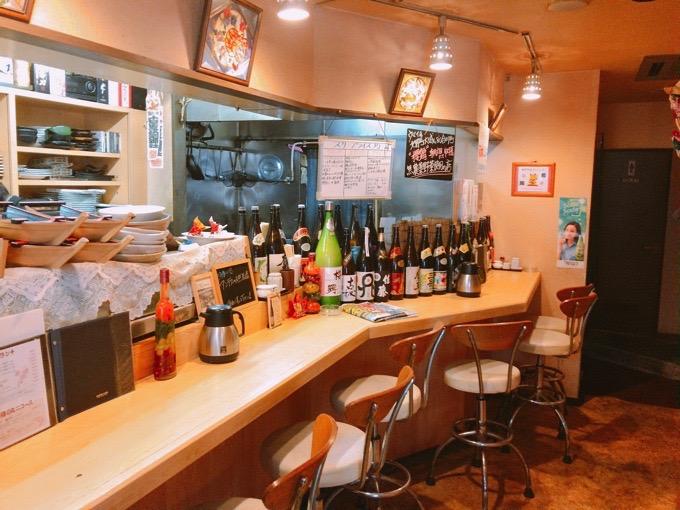久留米市 櫻舞(さくらまい)店舗テーブル席