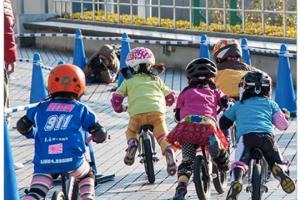第5回 久留米サイクルファミリーパークカップ ランニングバイク大会開催