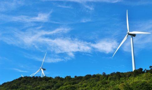 耳納連山に大型風力発電所!?景観悪化にならないか心配 事業化は未定