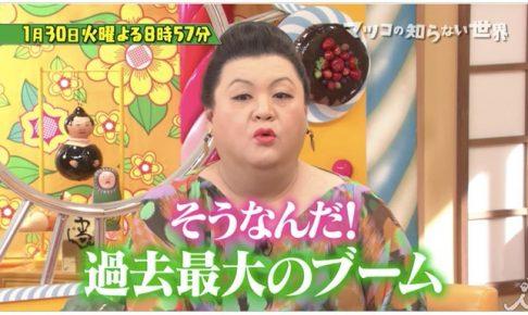 マツコの知らない世界「日本茶の世界」福岡県八女市『八媛みどり』が登場!?