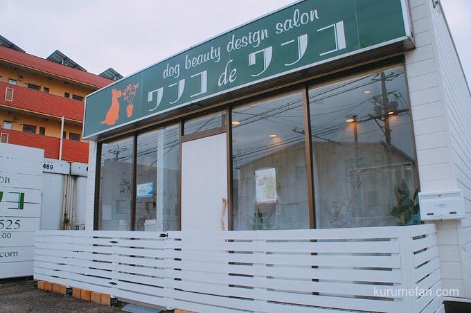 ドッグサロン ワンコdeワンコ 久留米市山川町 店舗