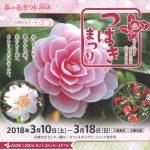 石橋文化センター「春の花まつり2018 つばきまつり」坂本繁二郎旧アトリエ特別公開