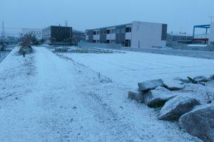久留米市 氷点下2.1度 3日連続、降雪!厳しい冷え込み