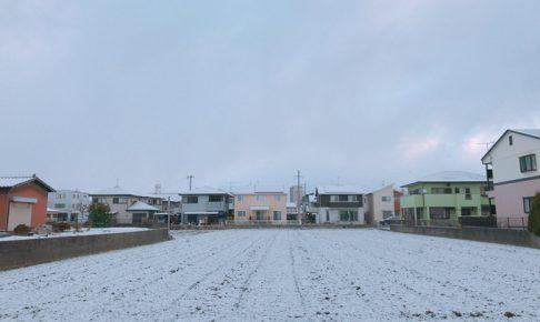 久留米市2cm程度の積雪 路線バス運行を見合わせのところも