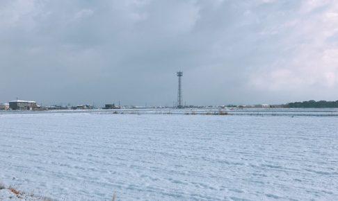 久留米市 着雪注意報 13日朝まで大雪や電線等への着雪の可能性