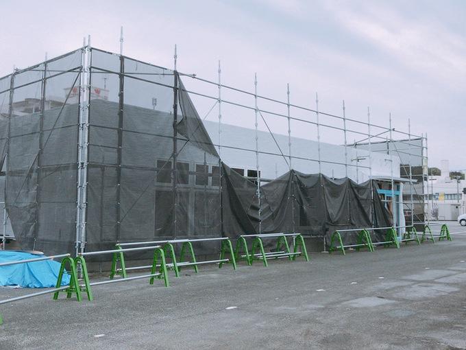 リラクゼーション りらくる 上津バイパス店 建設中