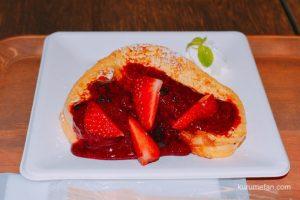 「HIROKAWA里カフェ まち子のおやつ」に行ってきた!いちごパフェやフレンチトーストが絶品