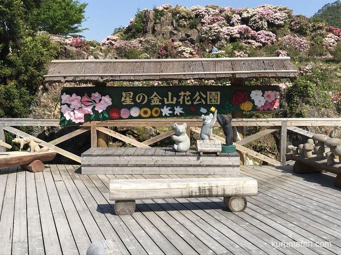 星の花公園 木彫りの動物園