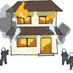 4月8日 久留米市上津町の火事 住宅1棟が全焼 1人の遺体で見つかる