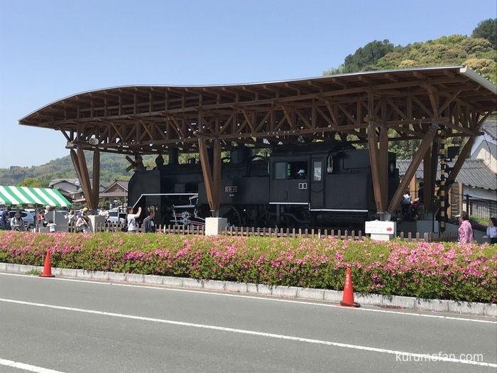 黒木町 C11形蒸気機関車