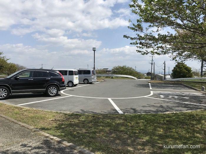 久留米市ドッグラン駐車場