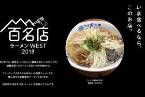 食べログ「ラーメン百名店 2018」を発表!ランクインした福岡6店まとめ
