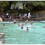 うきは市 調音の滝公園 流水プールオープン!そうめん流しもできる!